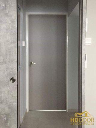 🚚 Grey laminated bedroom door