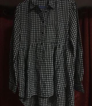 ZARA Checkered Top/Dress
