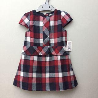 <new> tartan dress 12-18