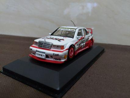 (絕版)1:43 Minichamps Mercedes-Benz 190E Evo 2