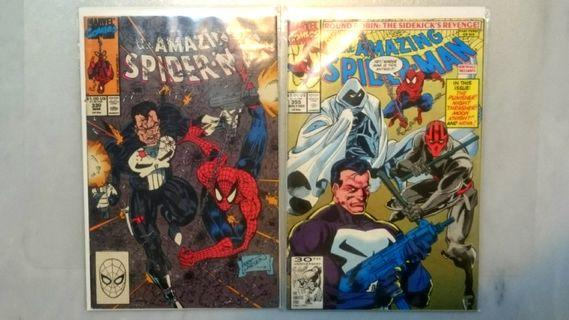🚚 the Amazing Spider-man #330 & #355