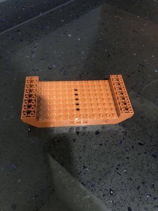 Lego part 95227 reddish brown 5 holes pirates