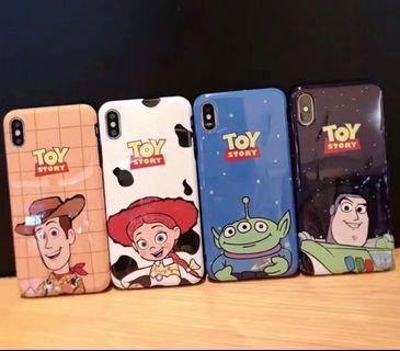 Toy story iPhone Case 巴斯光年 胡迪 翠絲 三眼仔 光面軟殼 6/7/8/X/XS/XR/Max