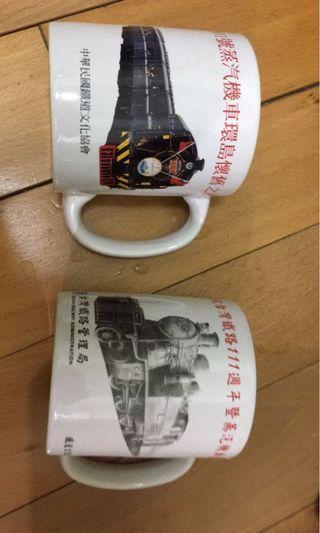 🚚 台鐵紀念馬克杯 每個100