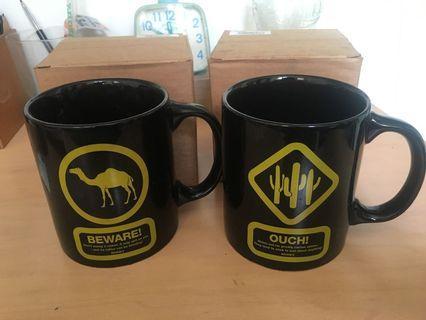 🚚 Discovery馬克杯 駱駝 仙人掌 兩個100