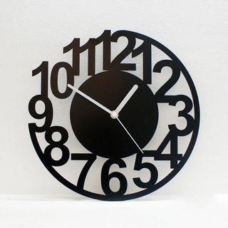創意鏤空造型掛鐘⏰