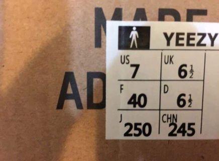 愛迪達adidas yeezy350 黑紅 US7