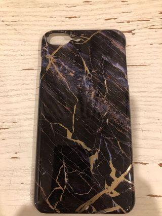 Black Gold Marble Case 8 PLUS