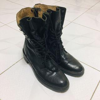 Initial ladies Military Boots