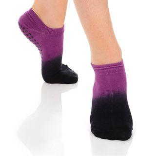 🚚 Great Soles Grip Socks - Ombre Berry