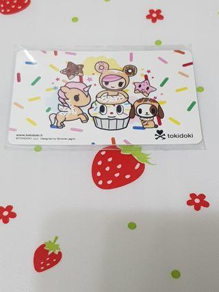 Tokidoki Donutella Ezlink Card
