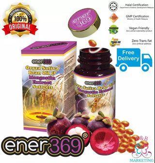 Ener369 Oryza Sativa Bran Oil & Mangosteen Extract