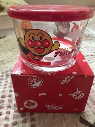 日本制全新有蓋玻璃瓶特價$60