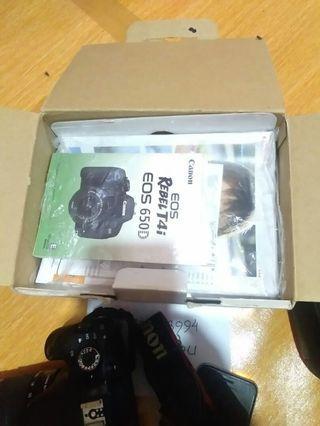 KAMERA DSLR CANON EOS 650D KIT