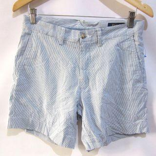 """(31) Polo Ralph Lauren Classic Fit 6"""" ladies stripes shorts, slight stretchy fabric, super nice in actual, almost looks new"""