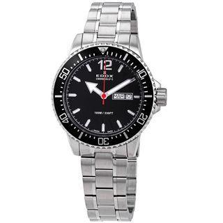 Edox Sub Diver Swiss Quartz 40mm Men's Watch