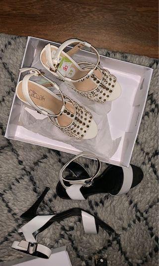 $20 PICK ANY OR ALL Charles & Keith and rockstud beige heels