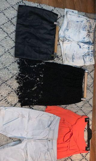Various Portman's dotti forever 21 shorts and skirts $20 PICK ANY OR ALL