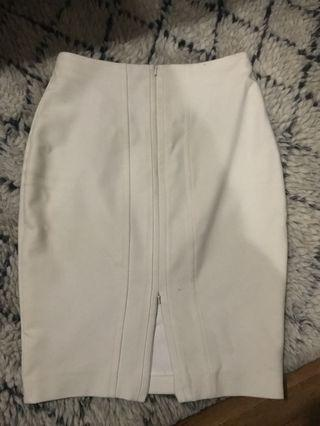 Saba zip up white bodycon skirt size 8 $20 PICK ANY OR ALL