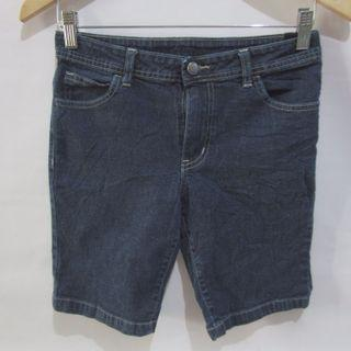 (10-14 girls) Faded Glory girls super stretchy denim shorts, with waist adjustable garter, for girls ages 10-14 depends on body build or small ladies, super nice in actual, almost looks new