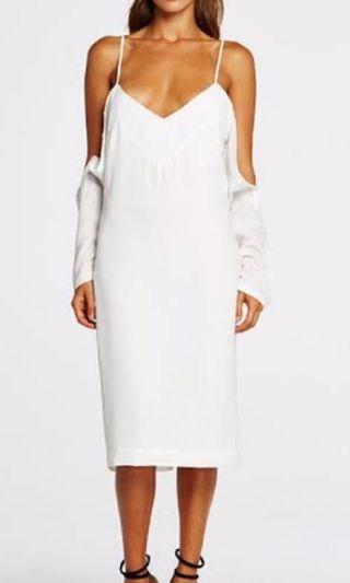 Maurie and Eve White Midi Dress