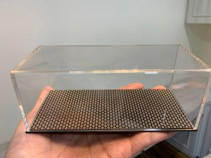 1/43 Model car Acrylic Display case with pattern