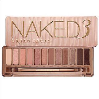 Naked 3 palette (BRAND NEW in box)