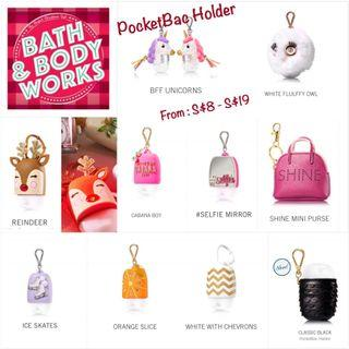 Bath & Body Works PocketBac Holder