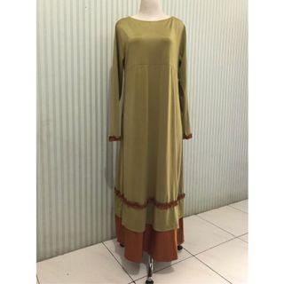 Gamis Jersey/ dress muslim all size
