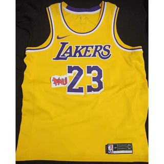 5942a917f5e3 Lebron James Lakers Home Jersey