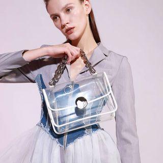 Charles Keith Clear PVC bag