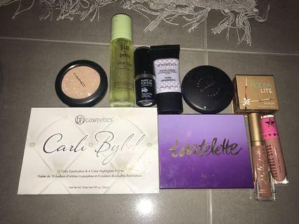 Tarte, mac, benefit, too faced and more!!