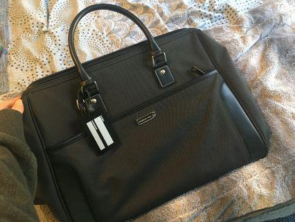 Large black travel bag