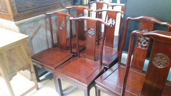 花梨木餐椅(已翻新)