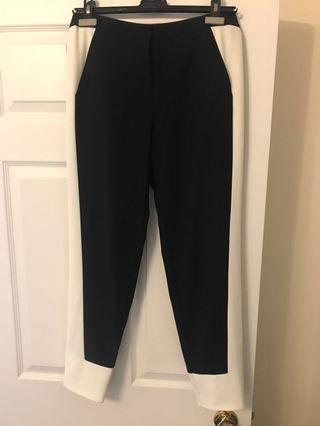 Black and White Trouser from Ted Baker