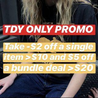 TODAY ONLY DEAL
