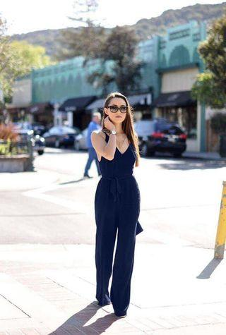 Waisted String Jumpsuit