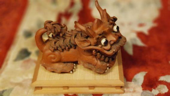 Pair of lion - handcrafted