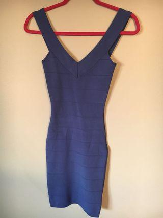 Marciano blue dress