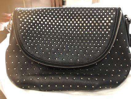 Marc Jacobs studded Natasha leather crossbody bag