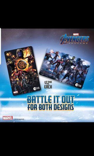 Avenger End Game Full Ezlink Set