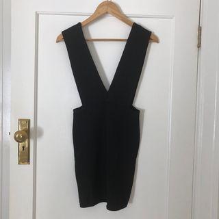 Pretty Little Thing Black Dress Size 8