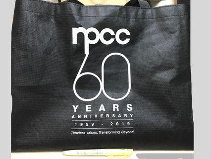 🚚 Npcc 60 anniversary nonwoven bag