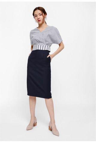 🚚 Love Bonito Syolanda Midi Pencil Skirt