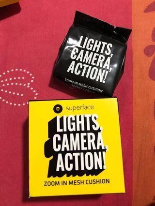 Light camera action cusion (with REFILL)