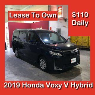 Lease To Own - Toyota Voxy V Hybrid 2019 Brand New MPV  - LTO