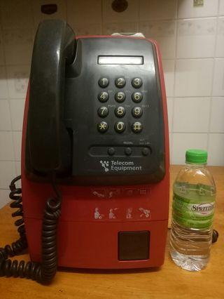 Vintage rare big public phone 80-90s
