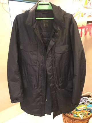 Zegna long jacket Hydrocompact Thermore