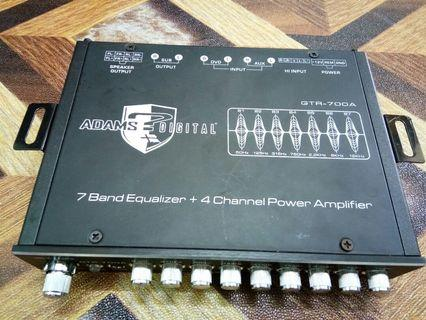 Adams digital Gtr-700A equlyzer