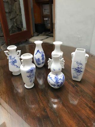 Vas Mini Pajangan Keramik China